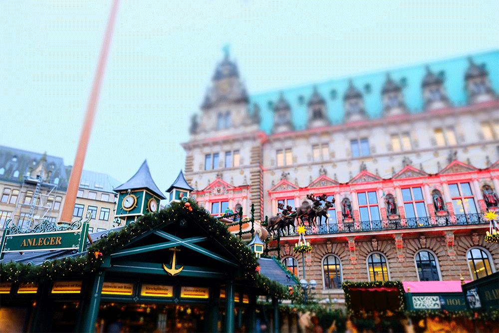 Weihnachtsmarkt Eröffnung Hamburg.Hamburger Weihnachtsmarkt